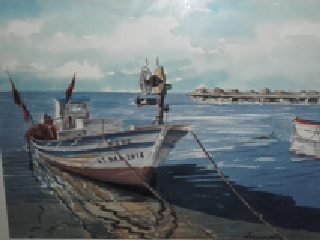 19 Acuarela Barca