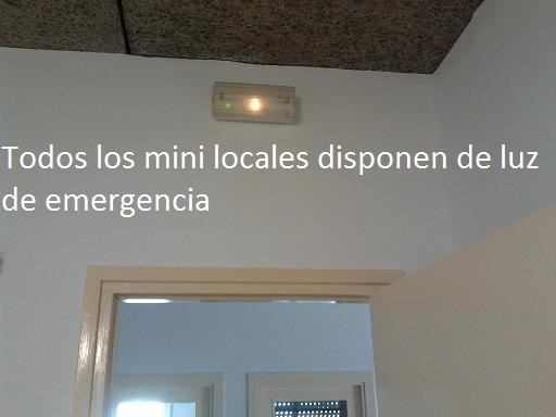 6 luces emergencia